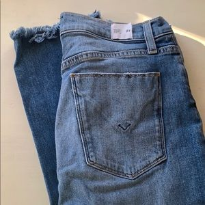 Hudson High Rise Zoeey Straight Crop Size 27